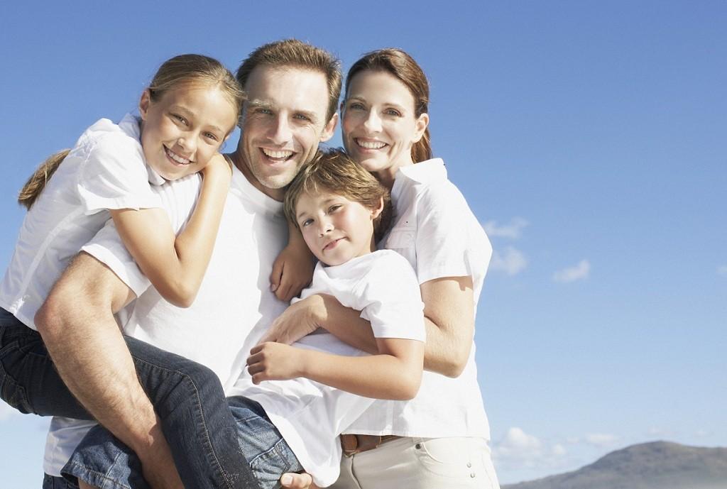 Фото: Полноценная семья счастья