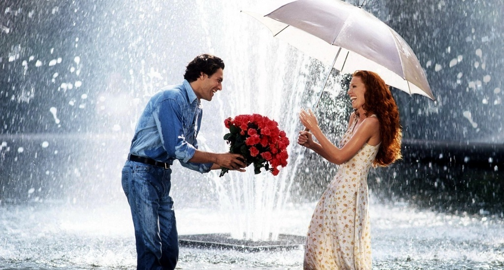 Фото: Признание в любви букетом роз