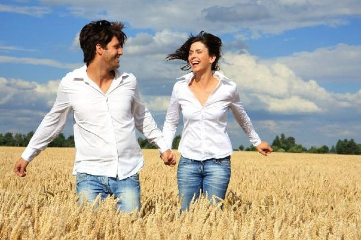Фото: Прогулка по пшеничному полю влюбленных