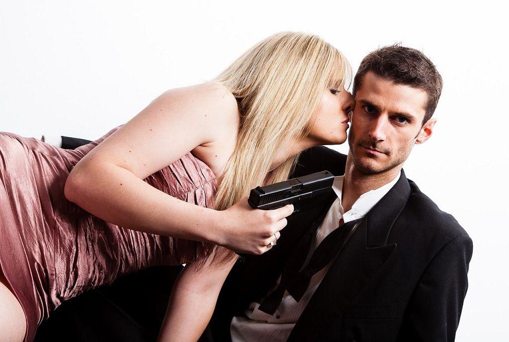 Фото: Убийственный поцелуй