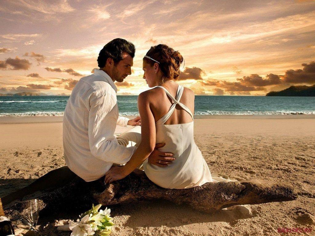 Фото: Признание в любви у моря