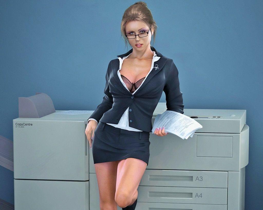 Фото: Сексуальная секретарша