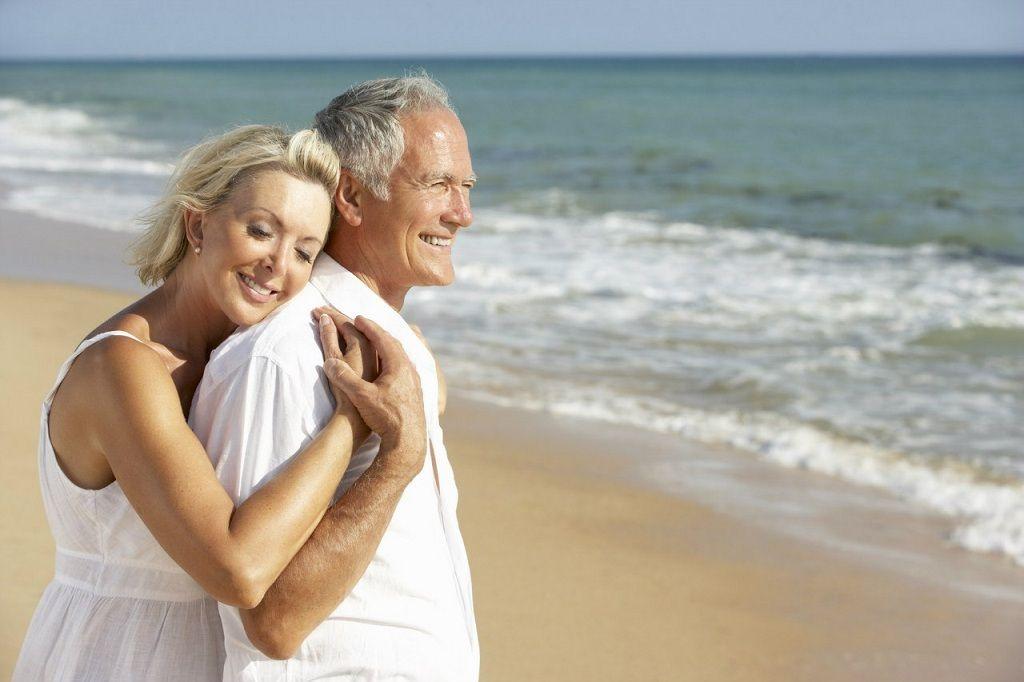 Фото: Пожилые супруги