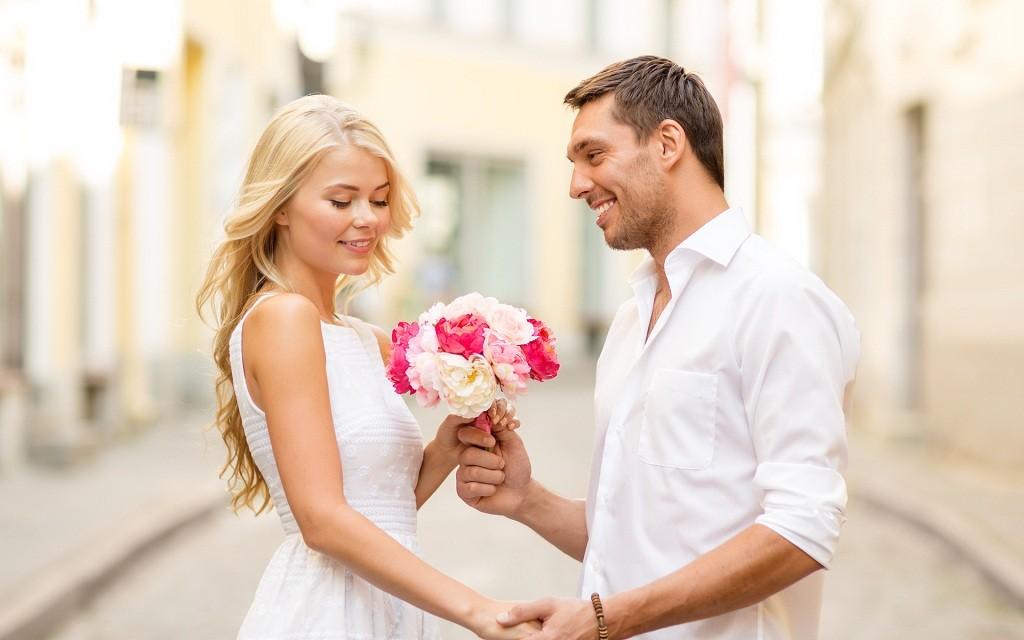 Фото: Романтический подарок букет цветов