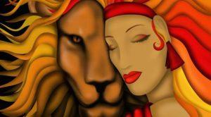 Кто подходит женщине льву