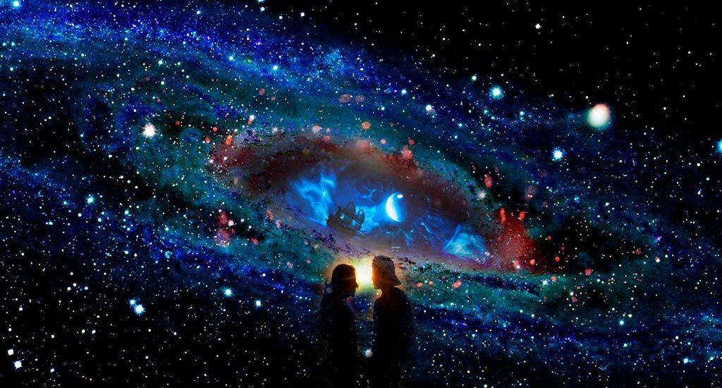 Фото: Звездный космос отношений
