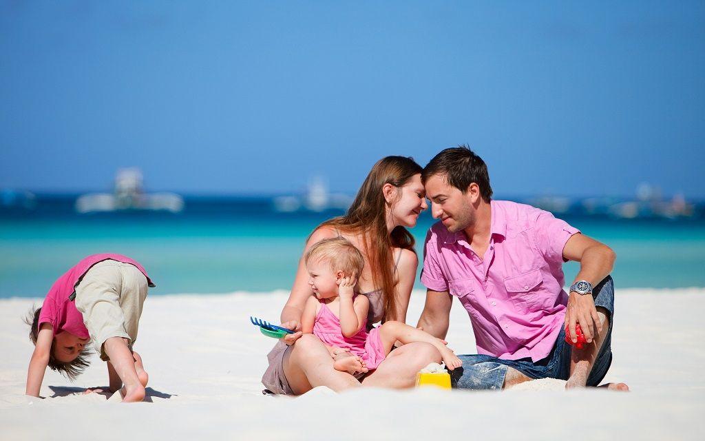 Фото: Семейный отдых у моря