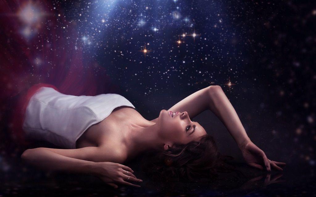 Фото: Взор в звездное небо