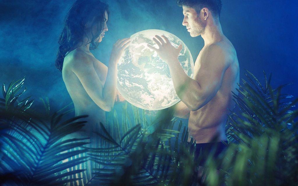 Фото: Лунное притяжение влюбленных