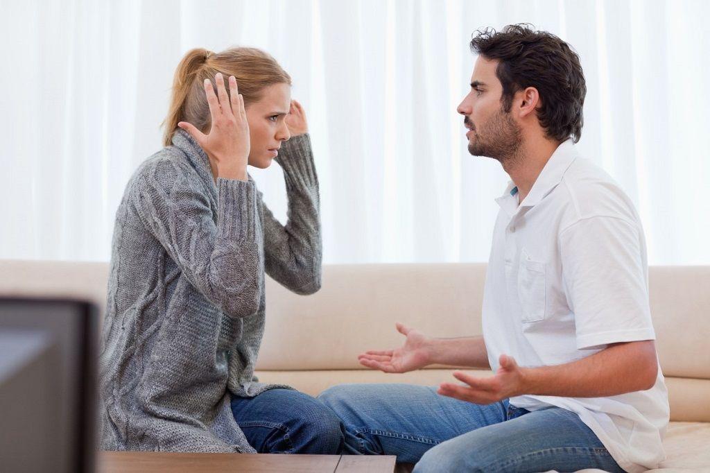 Фото: Ссора между мужем и женой