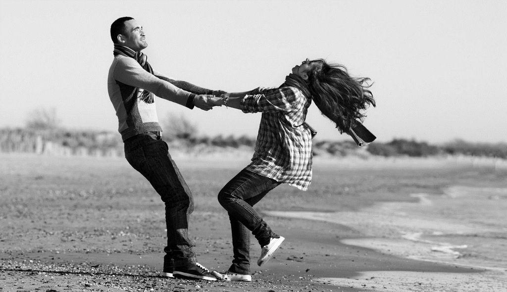 Фото: Счастье влюблённой пары