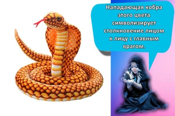 желтая кобра