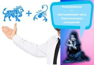 Совместимость и проблемы в отношениях женщины-Скорпиона и мужчины-Льва