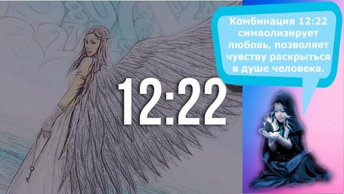12 22 на часах значение